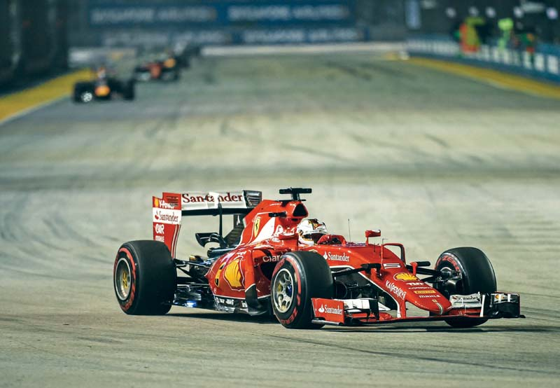 happy hunting ground for vettel it never rains but it singapores