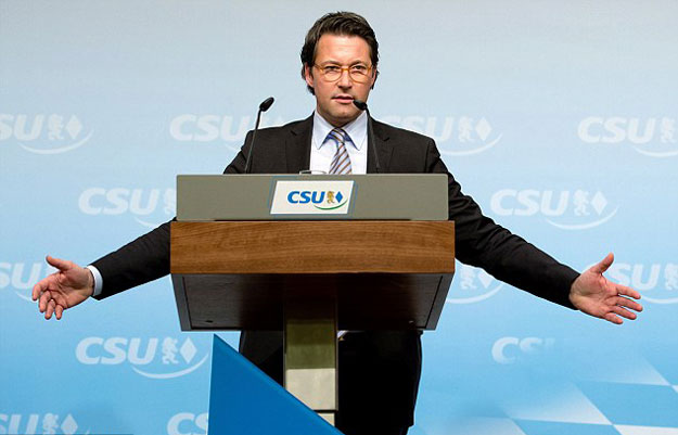 andrea scheuer general secretary of the csu party in bavaria which is chancellor angela merkel 039 s ally in the state called the offer 039 cynical 039 given that the kingdom is making thousands of refugees of its own in its military campaign in yemen photo afp
