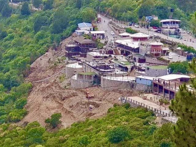why is monal allowed to operate inside a national park