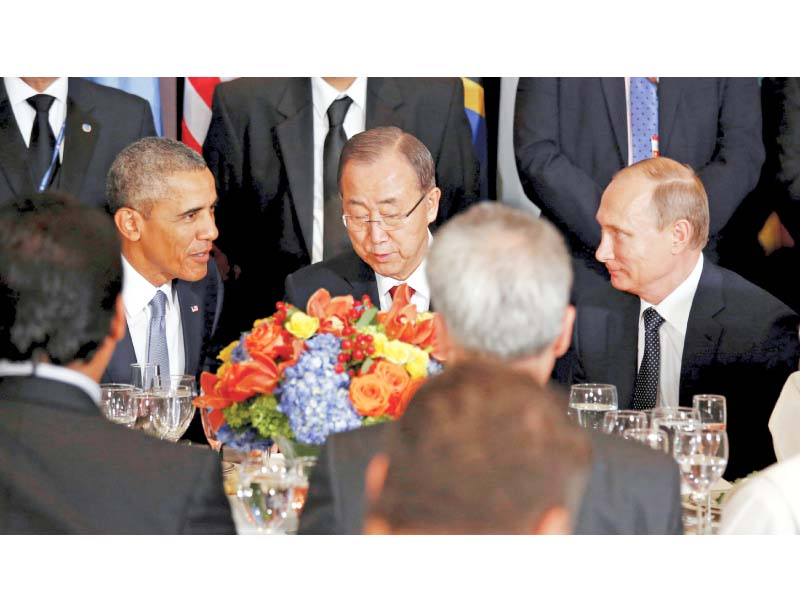 70th general assembly obama putin rowhani spar over syria at un