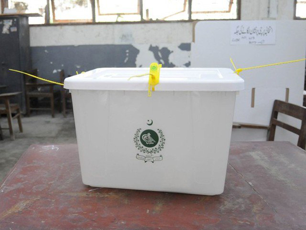 polling material reaches malir dc s office