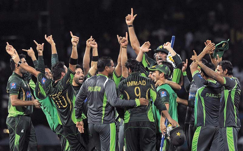Pakistan, whose place in the ICC Champions Trophy had been in jeopardy, made a comeback during the ODI series against Sri Lanka to qualify for the 2017 event. PHOTO: AFP