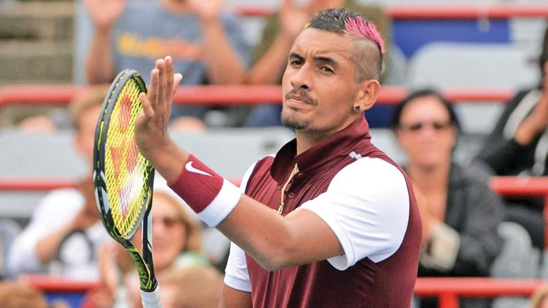 it will be the first time nick kyrgios and kei nishikori will be facing off when they meet in the second round of the shanghai masters photo reuters