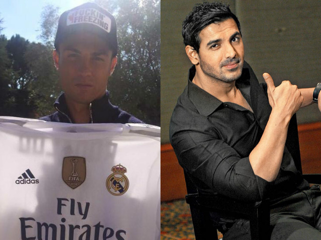 the star footballer sent a message for the bollywood actor and his indian super league team