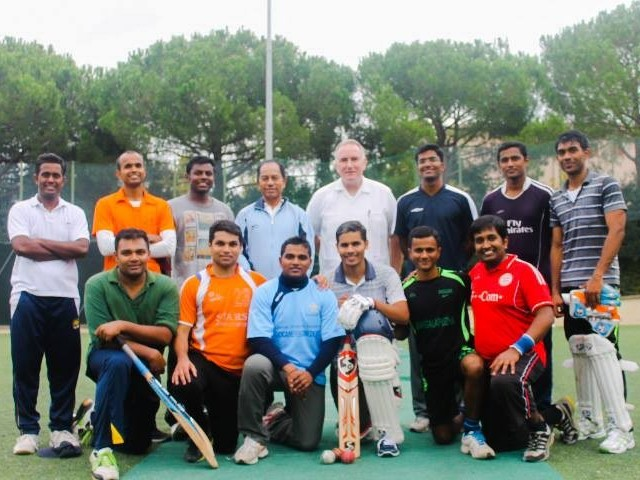 vatican cricket team plays all muslim side in interfaith relations win