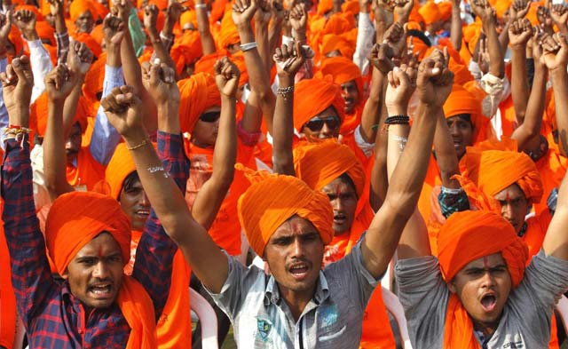 liberals in india complain of feeling pressure about their freedom of expression as religious groups flex their muscles photo reuters