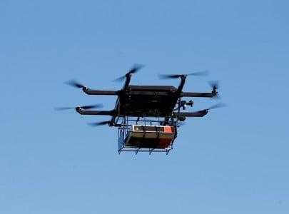 drones to surveil peshawar