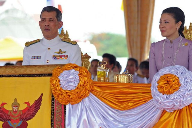 thai fortune teller policeman charged with royal defamation