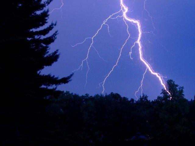 struck by lightning five army men injured