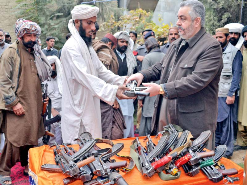 peaceful balochistan 23 marri militants surrender