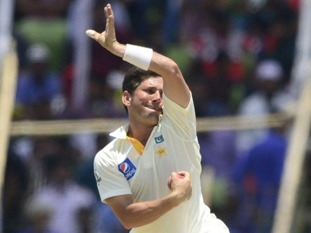 after 11 tests yasir on top against world s best leggies