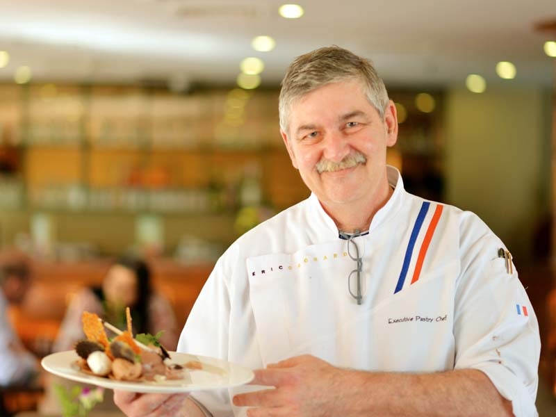Cochard shared his style of baking is simple and light with little decoration. PHOTO: PUBLICITY