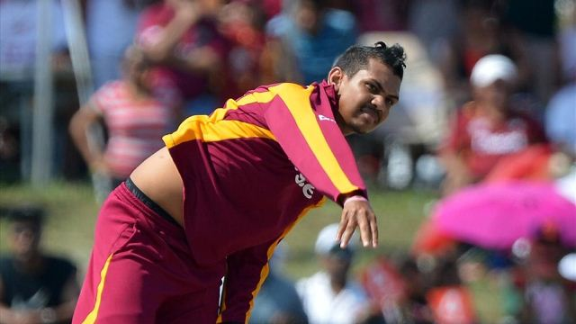 windies narine hauled up for suspect action