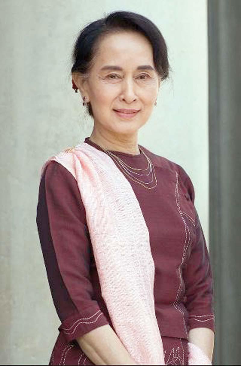 Aung San Suu Kyi. PHOTO: FILE