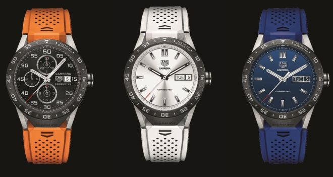 swiss watchmaker tag heuer unveils smartwatch running android