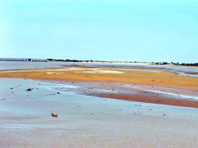 study notes reduced freshwater flows are a threat to indus delta s health photo app