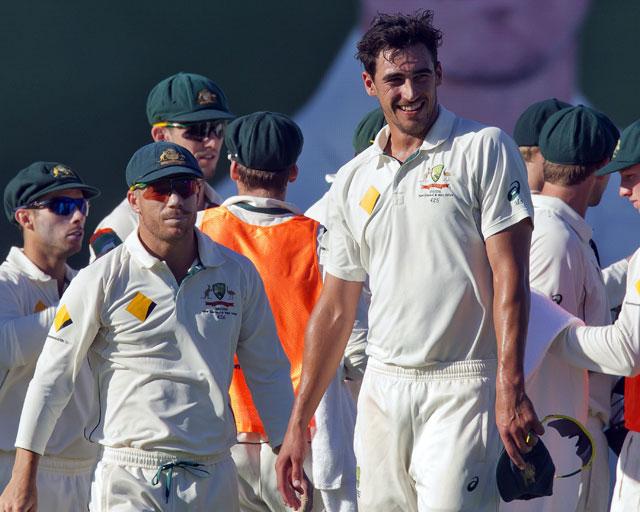 australia s starc bowls fastest ever test delivery