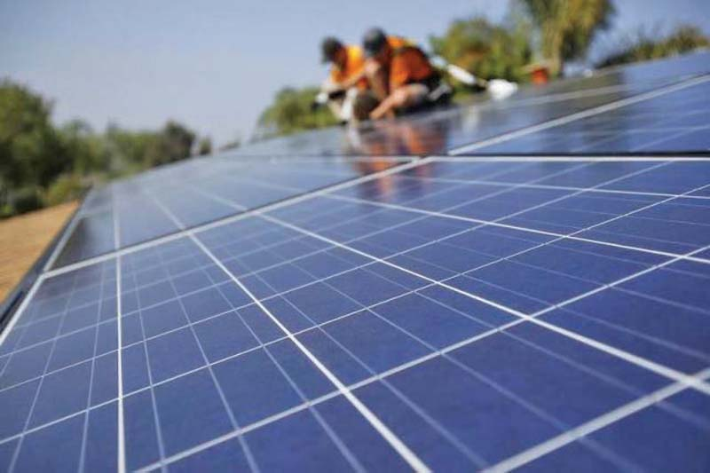 It is generally a consensus among experts that solar power generation is the most sustainable, as there is no chance of resource exhaustion. PHOTO: REUTERS