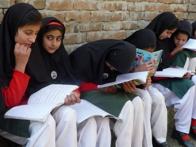 There are only five higher secondary schools for girls in the entire district of Swat. PHOTO: REUTERS/FILE