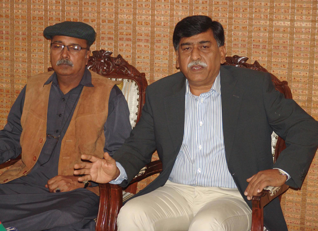 mqm gets votes by the use of guns afaq