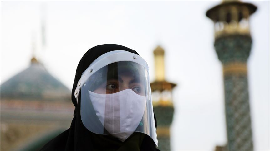 face masks made compulsory in public in tehran as covid toll rises