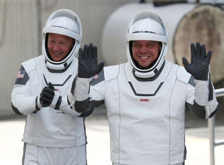 For the past nine years, US astronauts traveled exclusively on Russian Soyuz rockets, for a price of around $80 million per seat. PHOTO: AFP