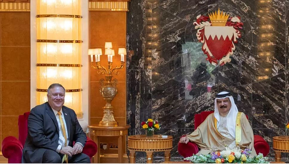 bahrain recommits to two state solution despite push for israel deal