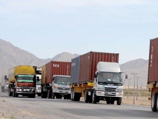 import of smuggling prone items halves under afghan transit trade