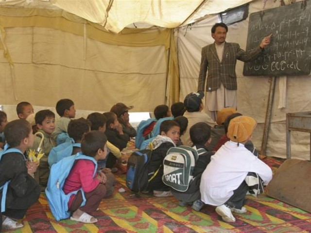 Millions of Afghan children, particularly girls, are missing out on an education during the pandemic. PHOTO: REUTERS/FILE