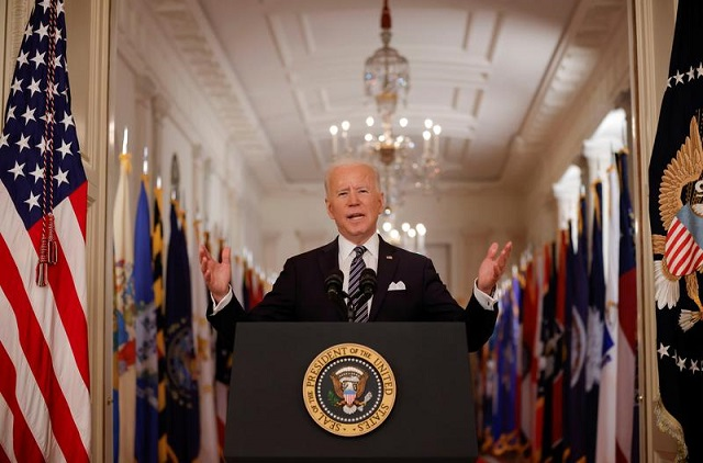 Joe Biden signs $1.9 trillion Covid relief bill