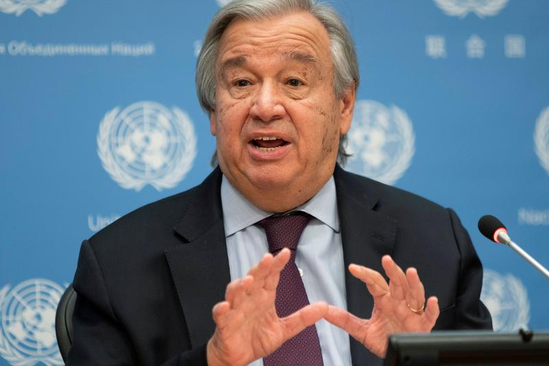 un chief urges india pakistan to come together to resolve kashmir dispute
