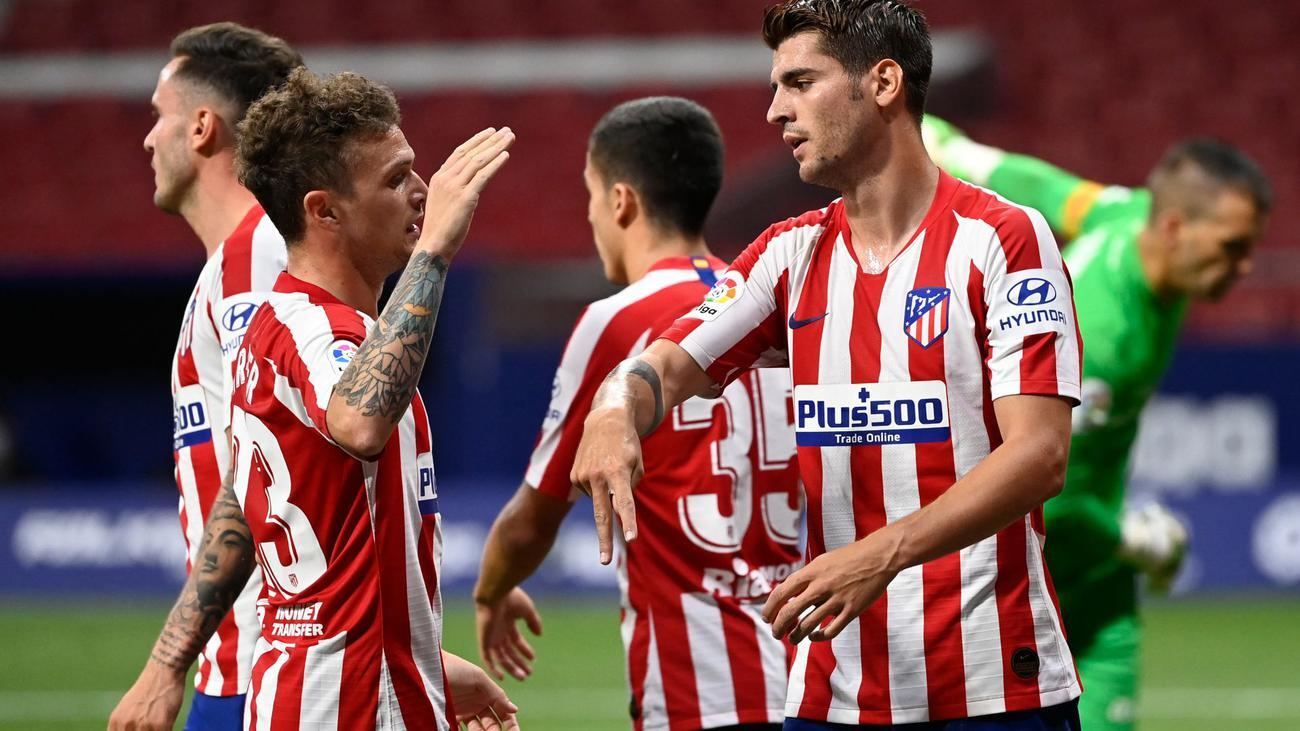 The result left Atletico third on 62 points from 34 games, five ahead of fourth-placed Sevilla. PHOTO: REUTERS