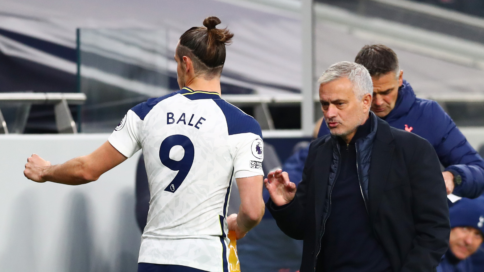 spurs bale must earn game time says mourinho