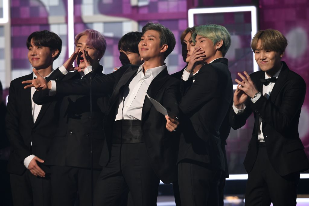 bts wins four mtv europe music awards in virtual ceremony