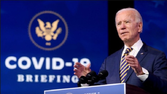 us president elect joe biden delivers remarks on the us response to the coronavirus disease covid 19 outbreak at his transition headquarters in wilmington delaware us december 29 2020 photo reuters