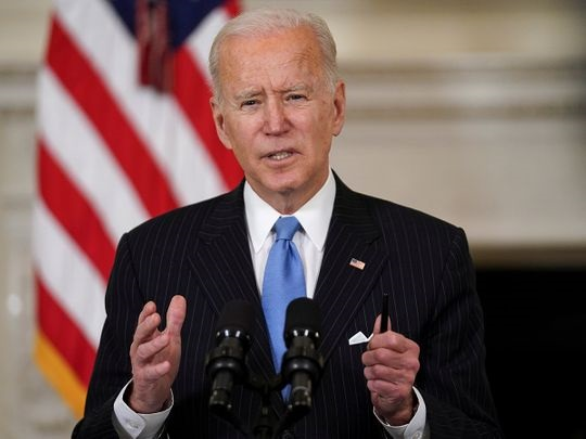 us president joe biden speaks about the administration s response to the coronavirus disease covid 19 pandemic at the white house in washington us march 2 2021 photo reuters