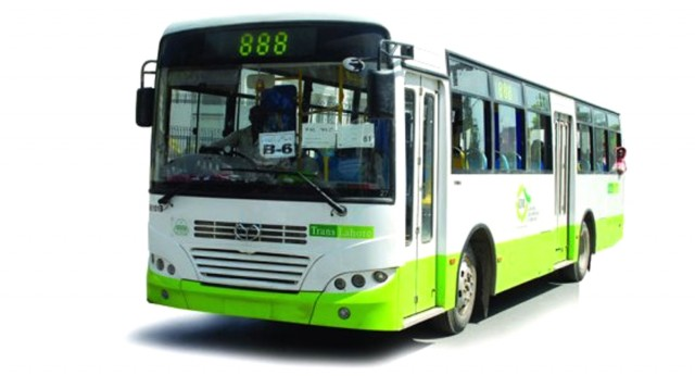 fleet of cng buses left to rust