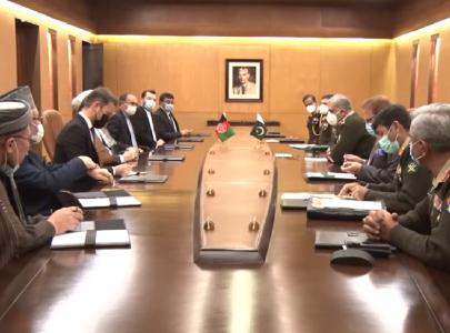 peace in afghanistan in pakistan s national interest gen qamar