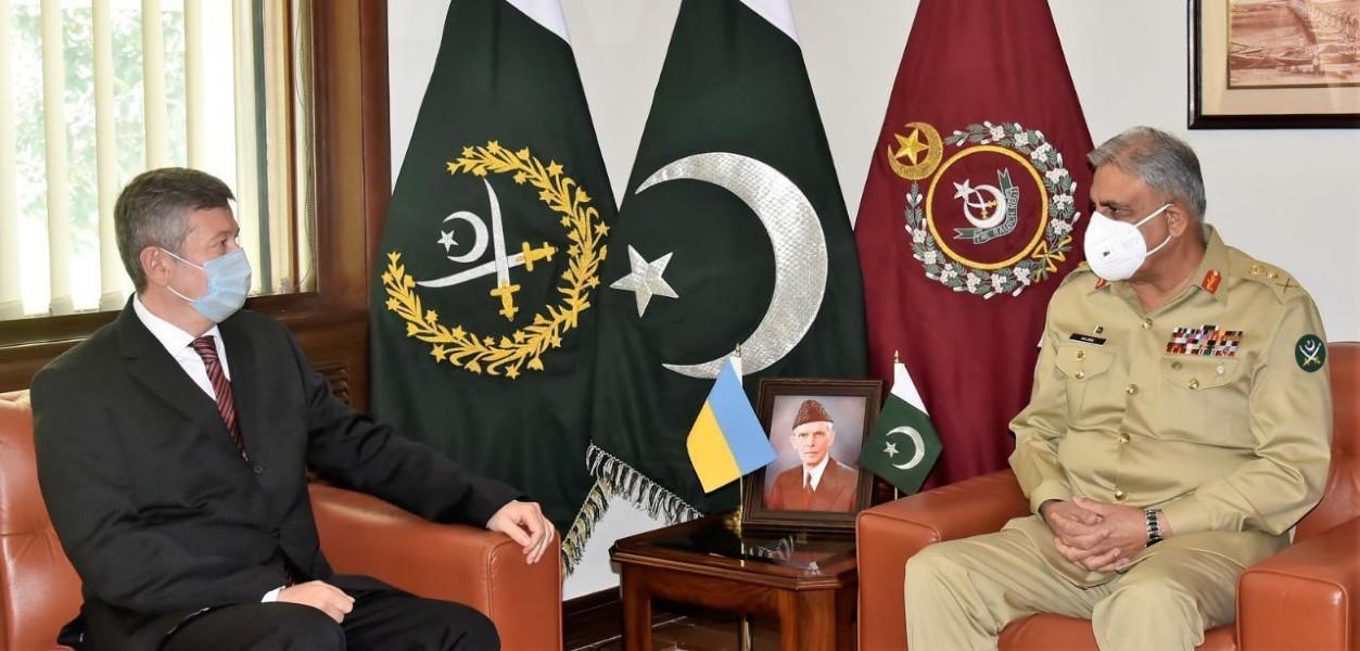 Pakistan attaches importance to Ukraine ties: COAS   The Express Tribune