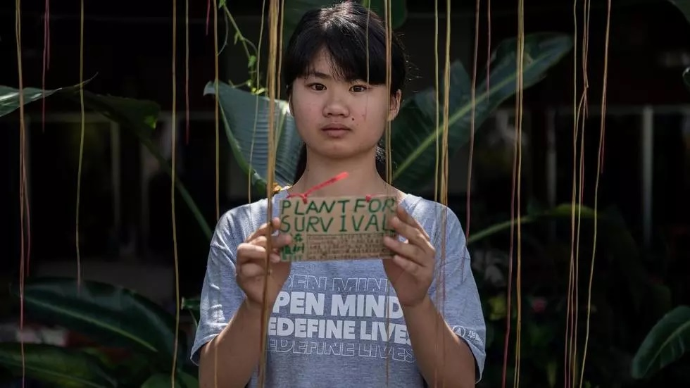 china teenage climate warrior fights a lonely battle