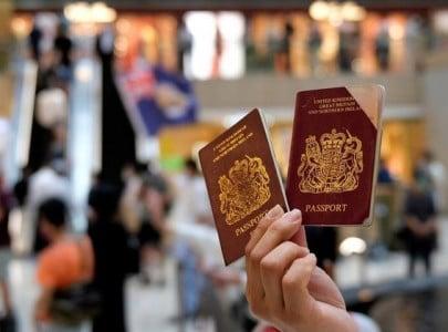 china urges britain to correct its mistakes on hong kong visas