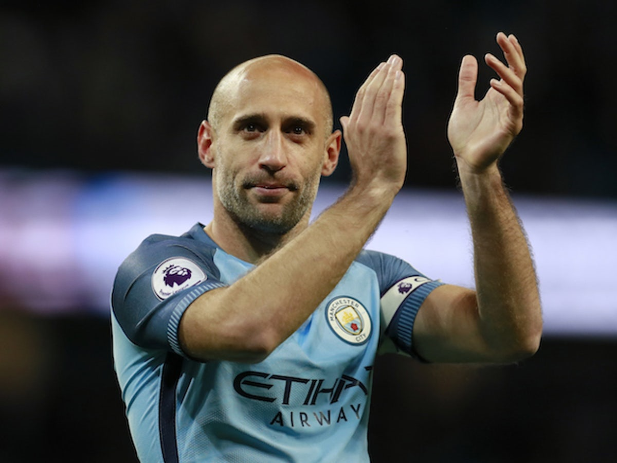 Former Manchester City Defender Pablo Zabaleta Announces Retirement