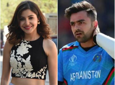 google thinks anushka sharma is married to afghan cricketer rashid khan