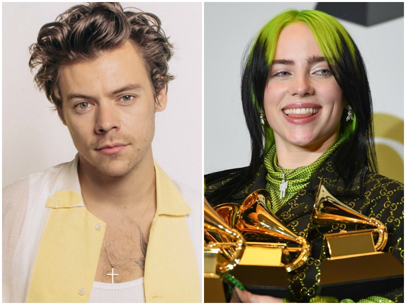 gucci enlists harry styles billie eilish for new film series