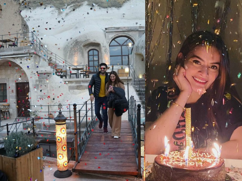 in pictures aiman minal s birthday celebrations leave fans in awe