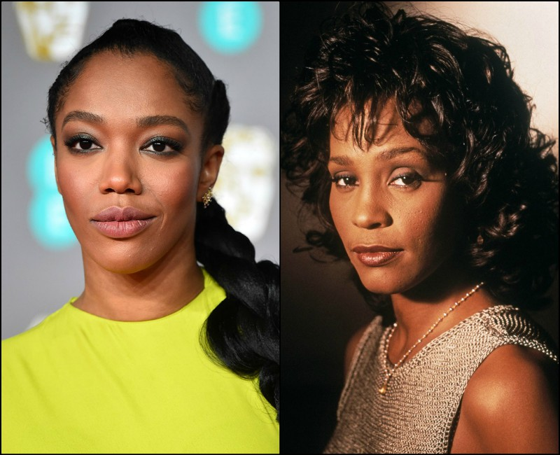 star wars famed naomi ackie cast as whitney houston in upcoming biopic
