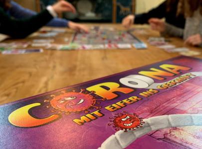 coronavirus a board game created in quarantine