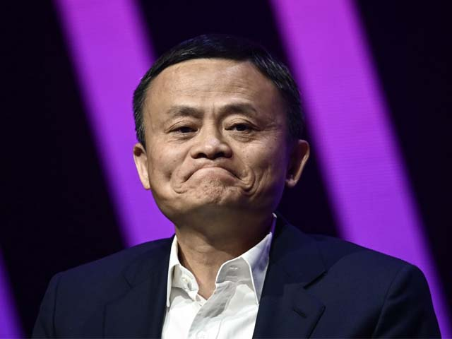 jack ma ceo of alibaba speaks in paris on may 16 2019 photo afp
