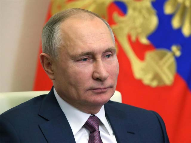 russian president vladimir putin holds a meeting photo afp