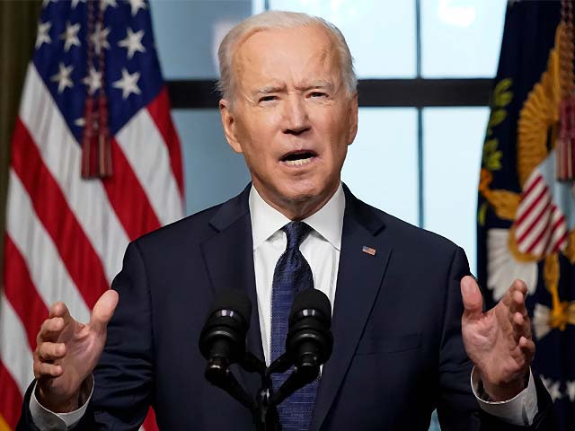 joe biden speaks about the withdrawal of the remainder of us troops from afghanistan photo afp